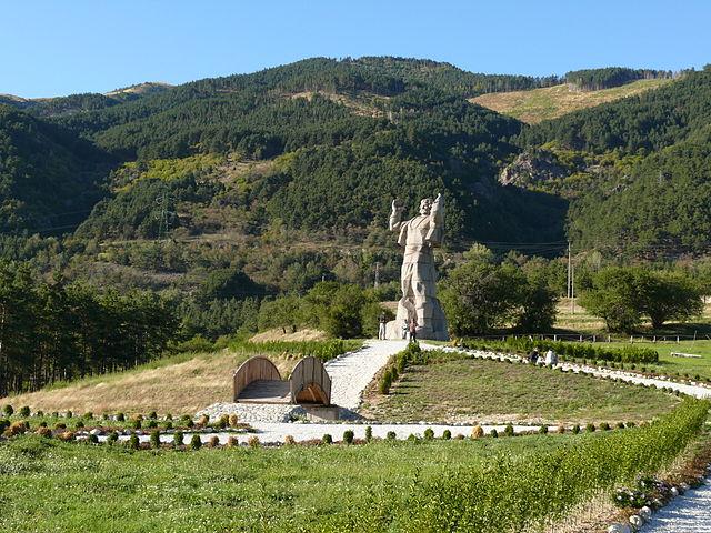 паметникът на Боримечката / he monument of Borimechkata Photo: Стрелчев