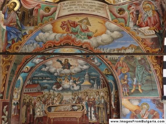 Photo: Nenko Lazarov - Rila Monastery paintings /Рилски Манастир стенописи