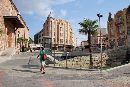 Площад джумаята / Dzhumaya square Plovdiv