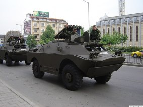 БТР / Anti tank vehicle photo credit: Kiril Kapustin