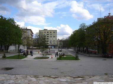 The city center / Центъра на града Photo credit: Kiril Kapustin