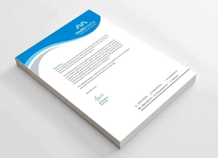 Business Corporate Letterhead Template