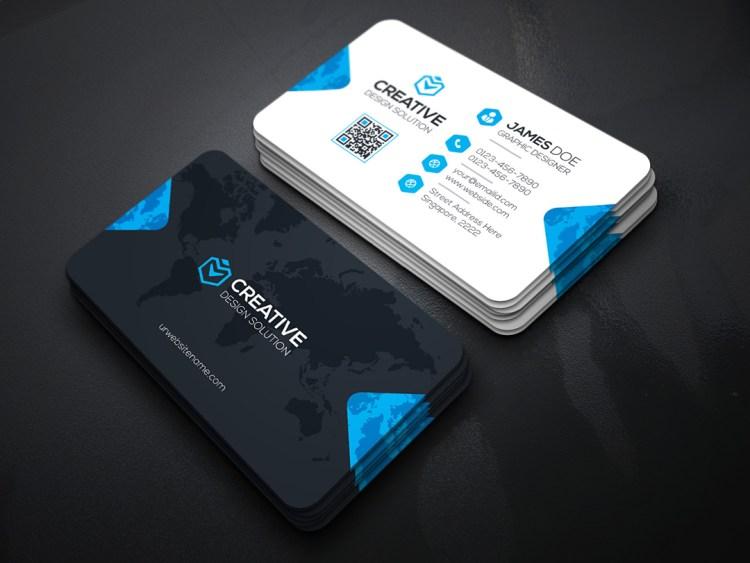 Creative Company Business Card Template