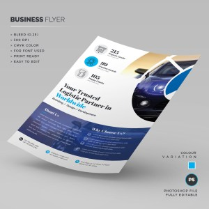 Logistic Firm Corporate Flyer