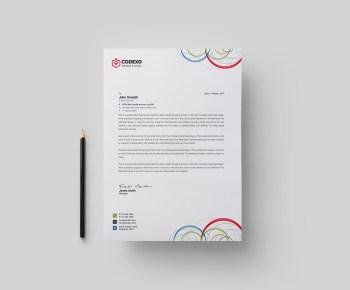 Poseidon Modern Corporate Letterhead Template