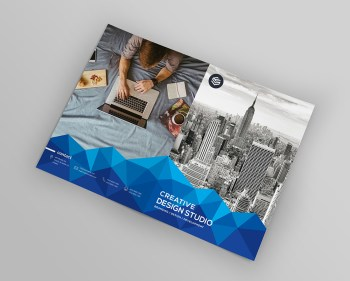 Top Rated Premium Bi-fold Brochure Template