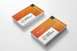 Exchange Visit Card Template