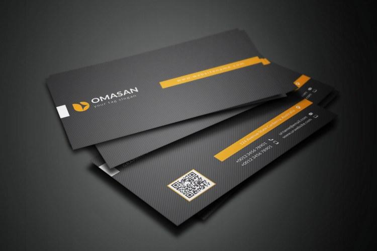 PSD Black Business Cards