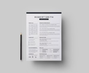 Versatile Vector Resume CV Design