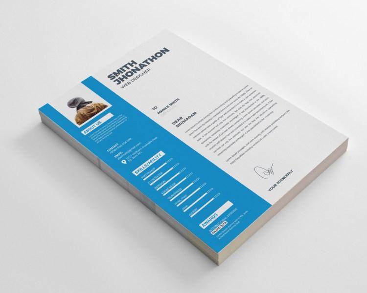 Classy Resume CV Design Templates
