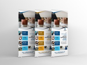 Print Roll Up Banner Template