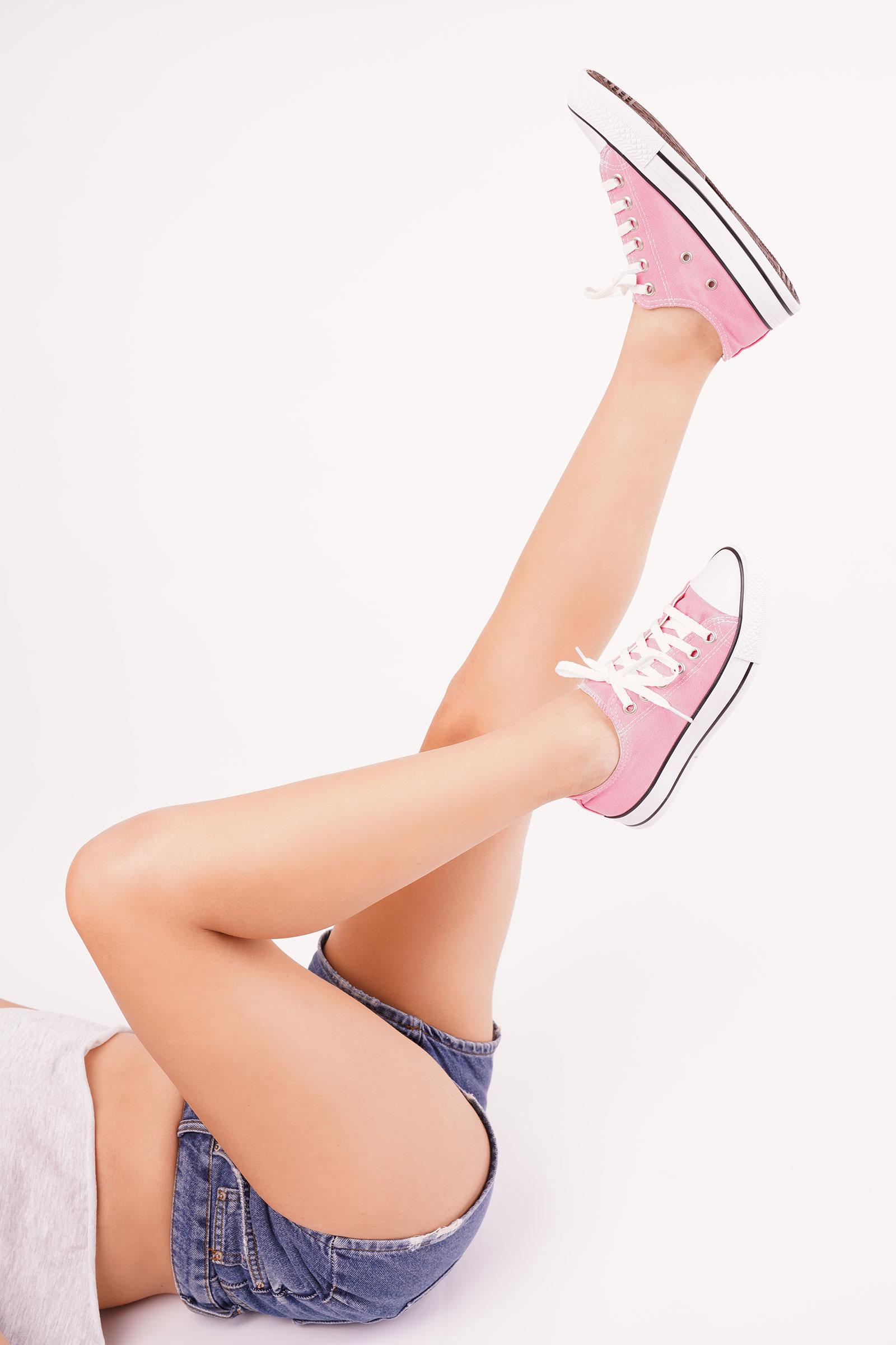 Beautiful legs stock photo