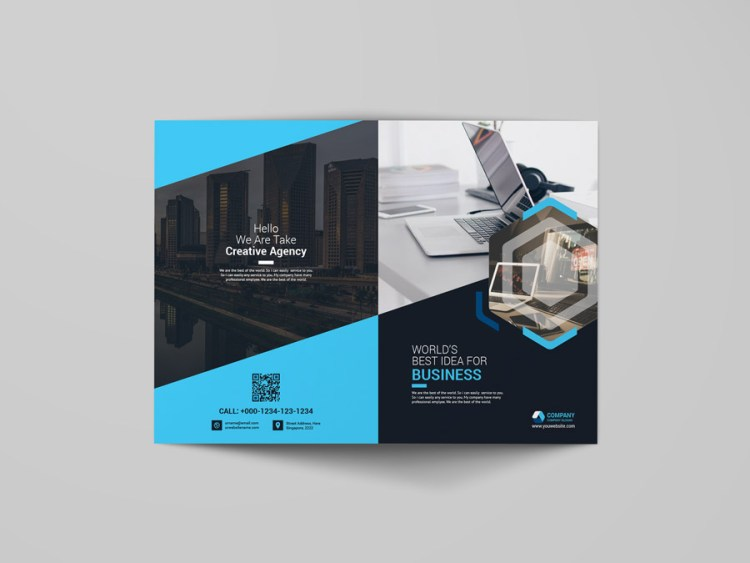 Bi Fold Booklet Template
