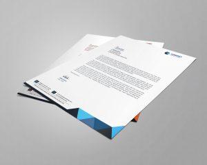 Executive Letterhead Design Template