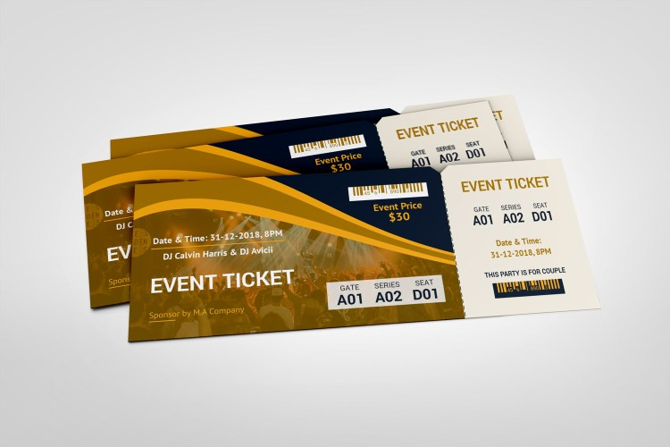 Standard Event Ticket