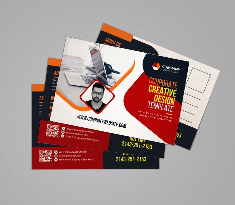 Company Postcard Templates