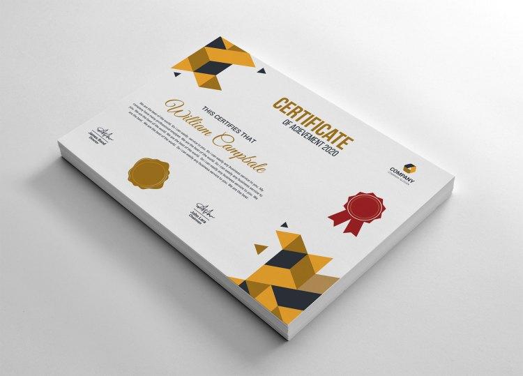 Student Achievement Certificate Template