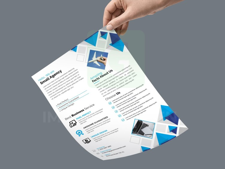 PSD Basic Flyer Template