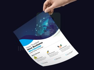 Photoshop PSD Flyer