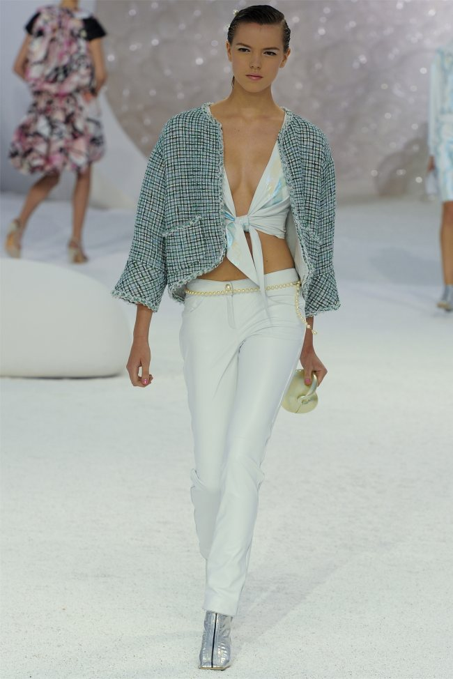 chanel55 Chanel Spring 2012 | Paris Fashion Week