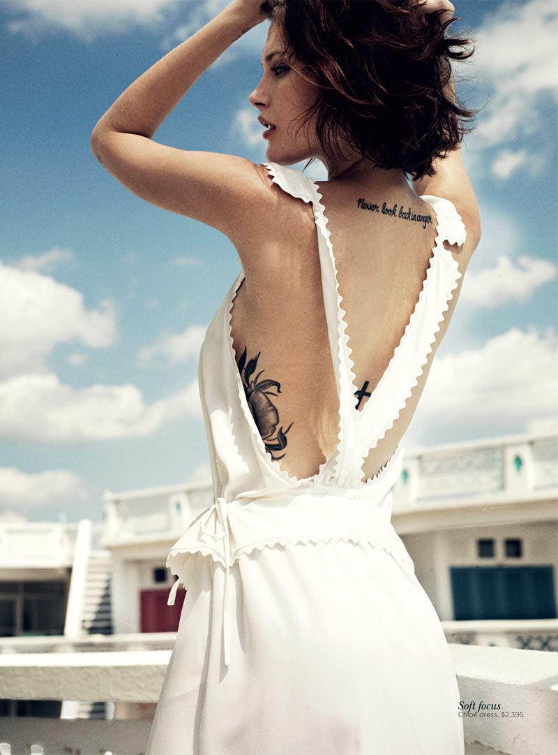 catherine mcneil6 Catherine McNeil Stays Cool for Vogue Australias November 2012 Cover Shoot by Benny Horne