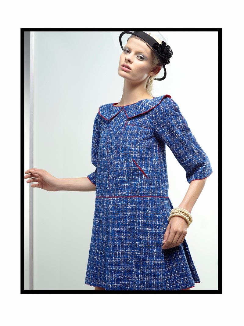 chanel4 Chanel Spring 2013 Lookbook by Karl Lagerfeld