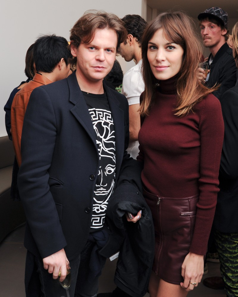versace1 Doutzen Kroes, Lady Gaga, Coco Rocha and Others Step Out for Versaces SoHo Store Opening