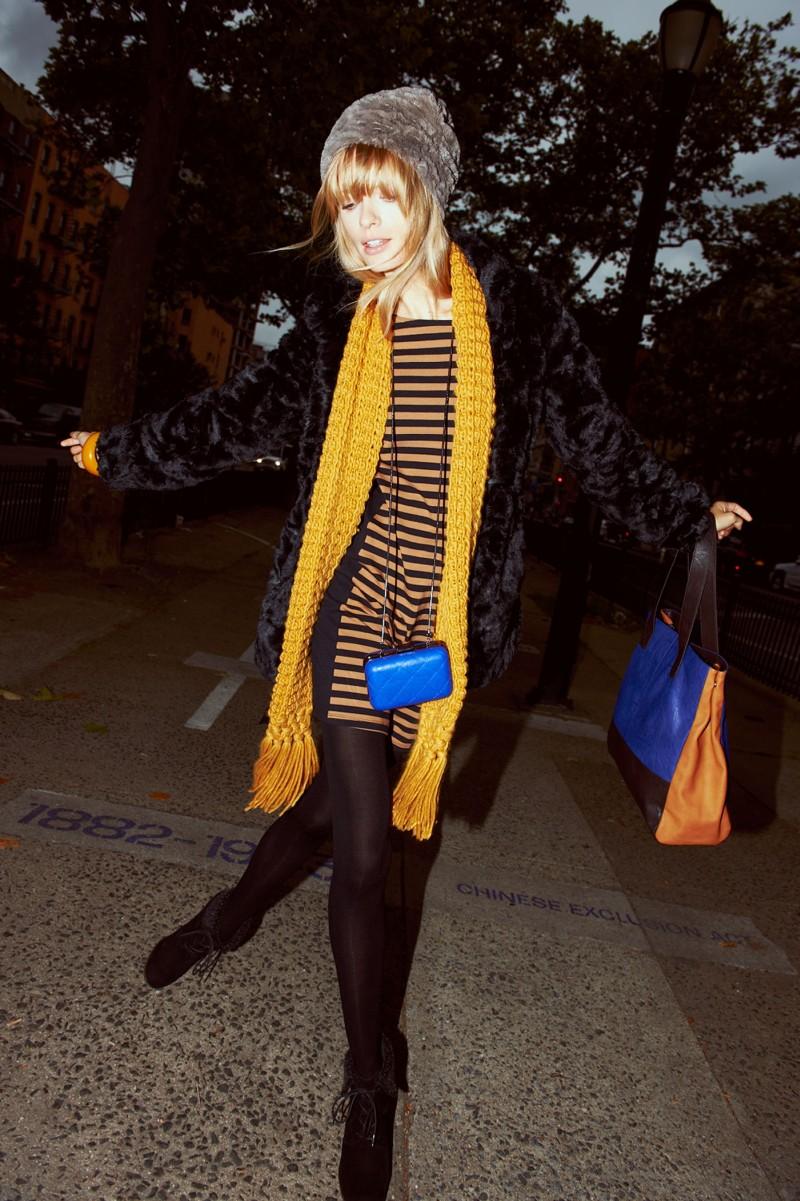 julia stegner18 Julia Stegner Lights Up Reserveds Fall 2012 Campaign