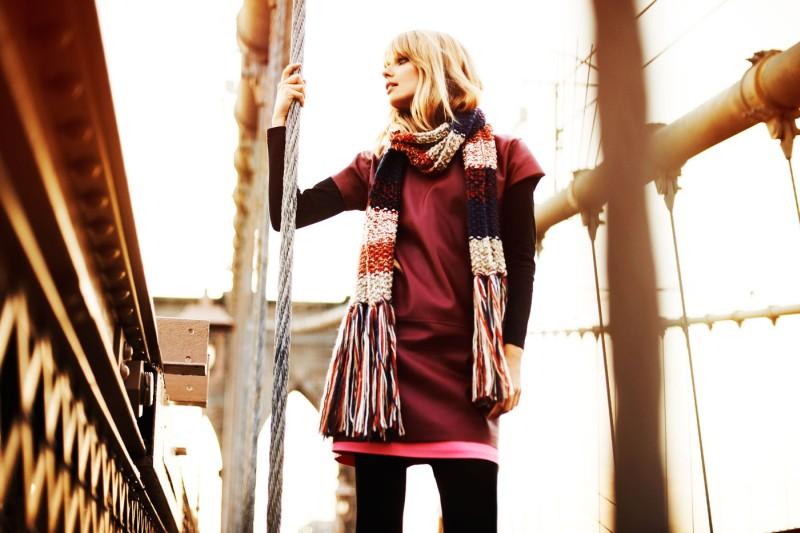 julia stegner2 Julia Stegner Lights Up Reserveds Fall 2012 Campaign