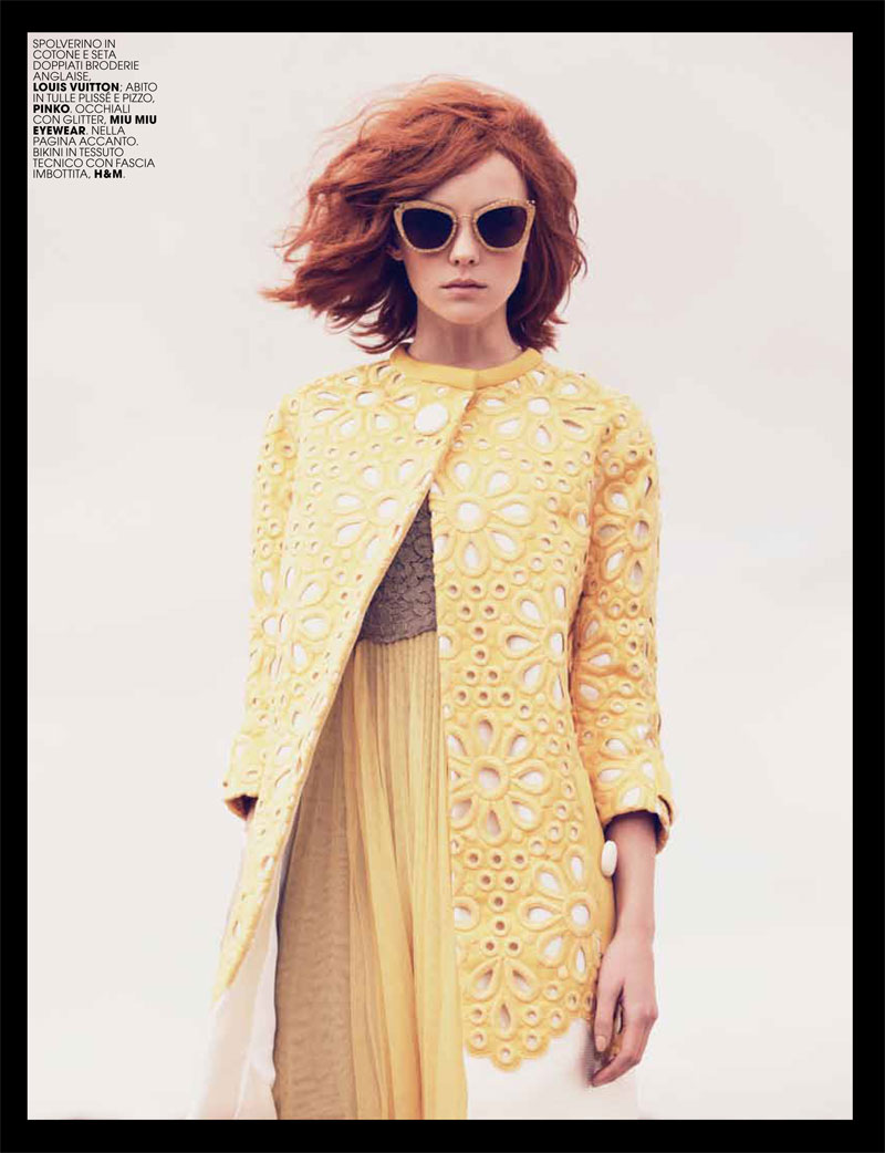 heather marks3 Heather Marks by Paul Schmidt for Marie Claire Italia May 2012