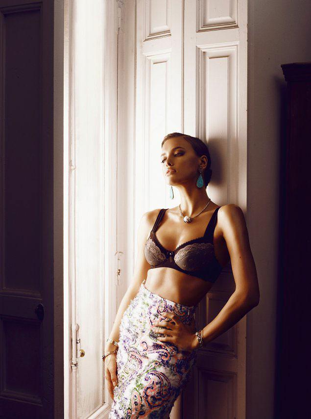 irina shayk5 Irina Shayk by Alvaro Beamud Cortes for S Moda May 2012