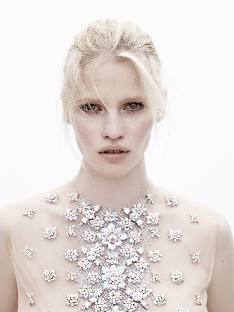 lara stone3 Lara Stone by Josh Olins for Vogue Netherlands May 2012