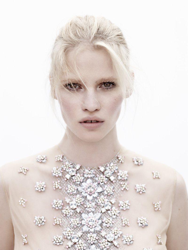 lara stone3 Lara Stone by Josh Olins for Vogue Netherlands May 2012