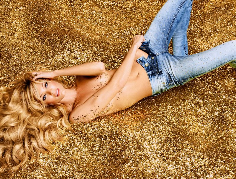 candice swanepoel7 Candice Swanepoel is Golden Sexy for Colccis Luxury Campaign by Fabio Bartelt