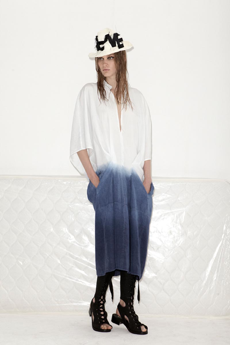 acne13 Acnes Resort 2013 Collection Offers Currency as Prints