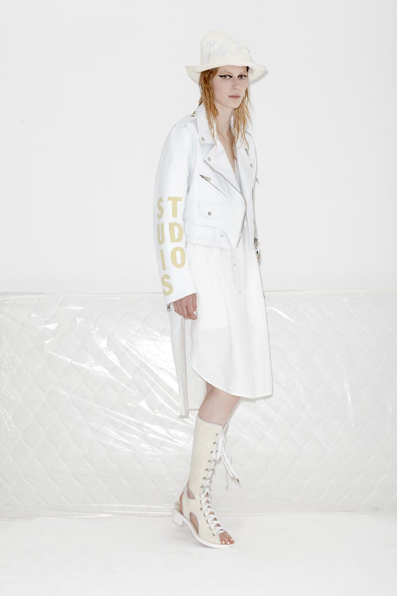 acne6 Acnes Resort 2013 Collection Offers Currency as Prints