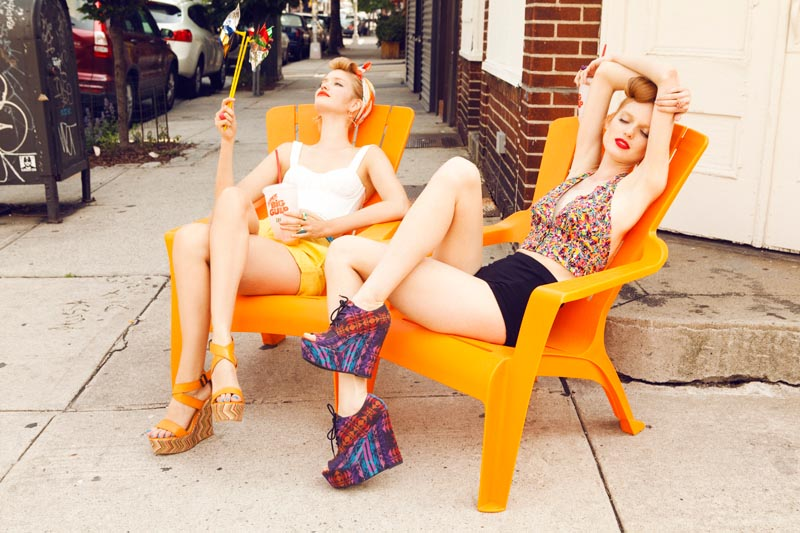 steve madden8 Steve Maddens Summer 2012 Trendbook Features Kitschy, Retro Inspired Styles