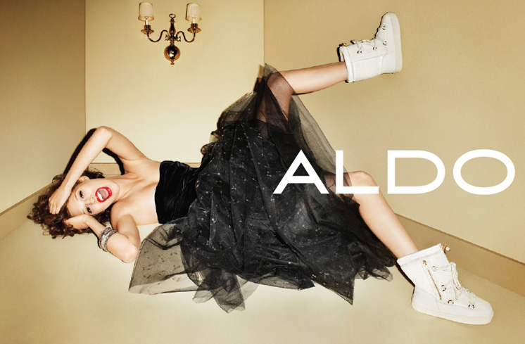 aldo3 Aldo Enlists Anais Pouliot for its Fall and Holiday 2012 Campaigns by Terry Richardson