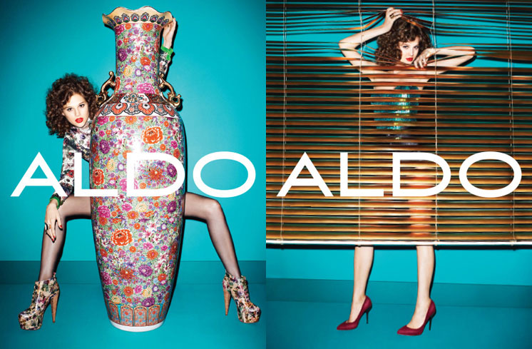 aldo5a Aldo Enlists Anais Pouliot for its Fall and Holiday 2012 Campaigns by Terry Richardson