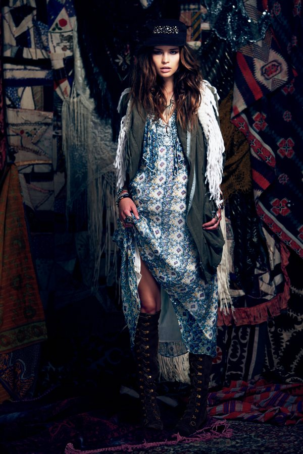 gypsy3 Free Peoples September Lookbook Focuses on Gypsy Style