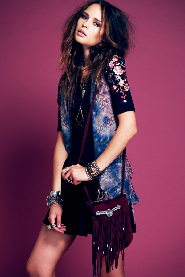 gypsy8 Free Peoples September Lookbook Focuses on Gypsy Style