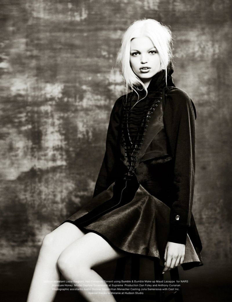daphne groeneveld10 Daphne Groeneveld Rocks Cool Fashion for Mariano Vivancos Muse Shoot