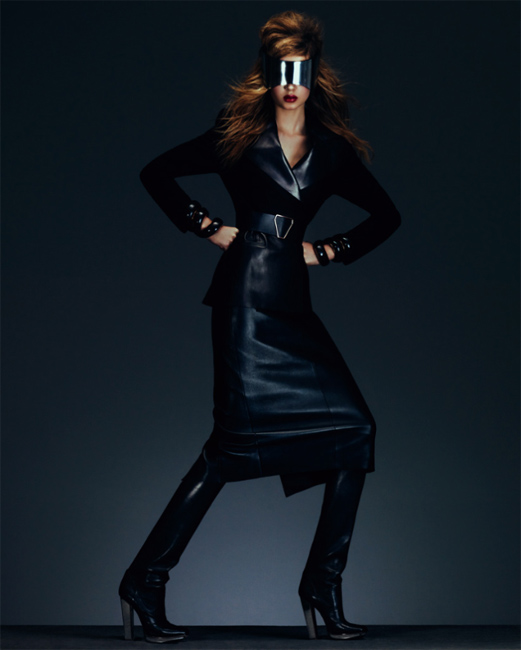 YeeSkriverFT03 Josephine Skriver Shows Off Fall's Key Trends in How to Spend It by Andrew Yee