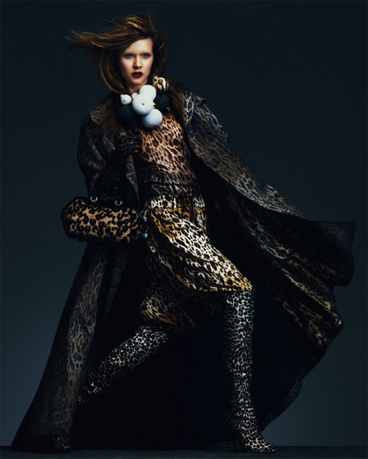 YeeSkriverFT09 Josephine Skriver Shows Off Fall's Key Trends in How to Spend It by Andrew Yee