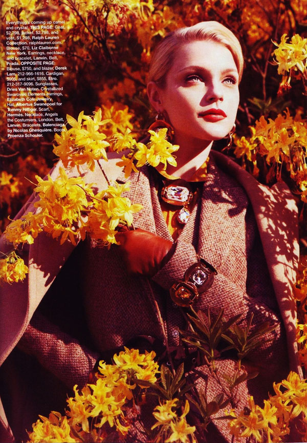 stamhb7 Jessica Stam in 'New Pieces You'll Love Forever' by Benjamin Alexander Huseby