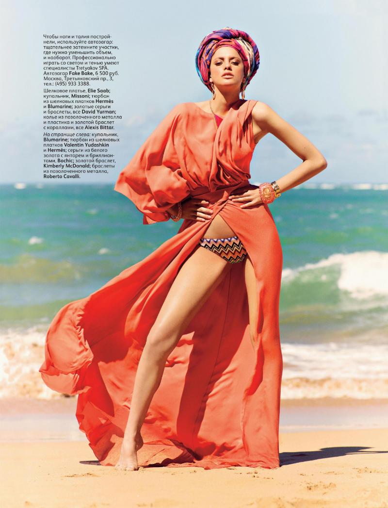 alonso2 Alejandra Alonso by Mariano Vivanco for <em>Vogue Russia</em> May 2011