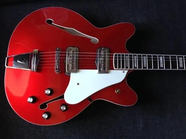 Vintage Fender Jaguar Wiring Ngd Fender Coronado Ii Reissue Upgraded Offsetguitars Com