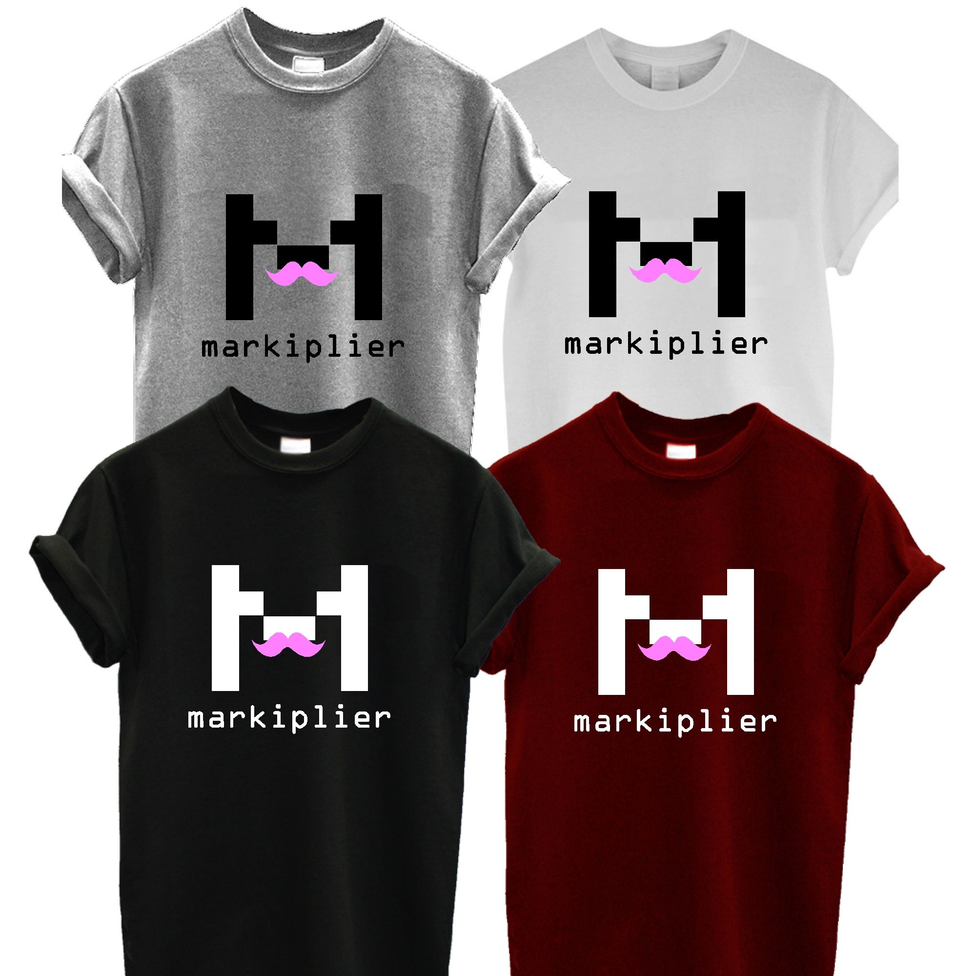 MARKIPLIER t shirt youtube pewdiepie jacksepticeye gaming viral youtuber  eBay