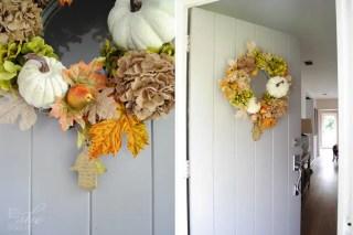 Perfect Hues for Autumn Wreath (tutorial)