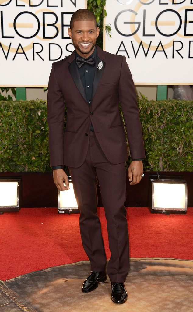 usher golden globes